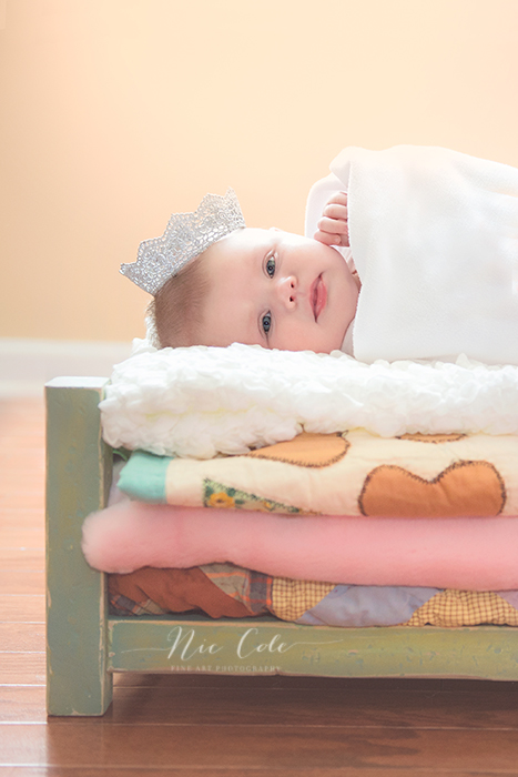 3 month old baby session