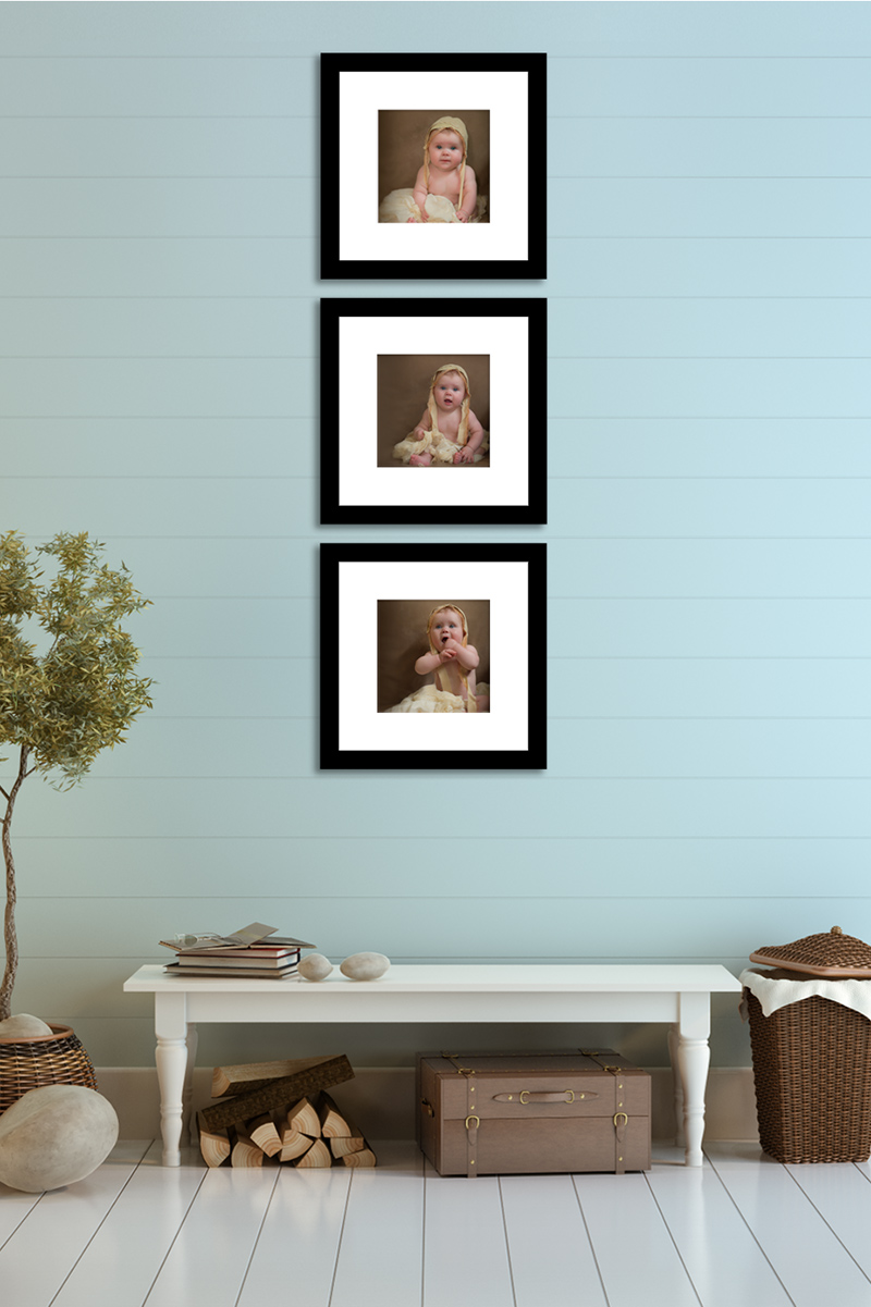 Baby photo display