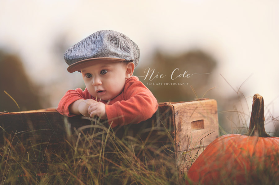 Baby-sta-res-at-grass-Charlotte-child-photographer-NicCole-Photography